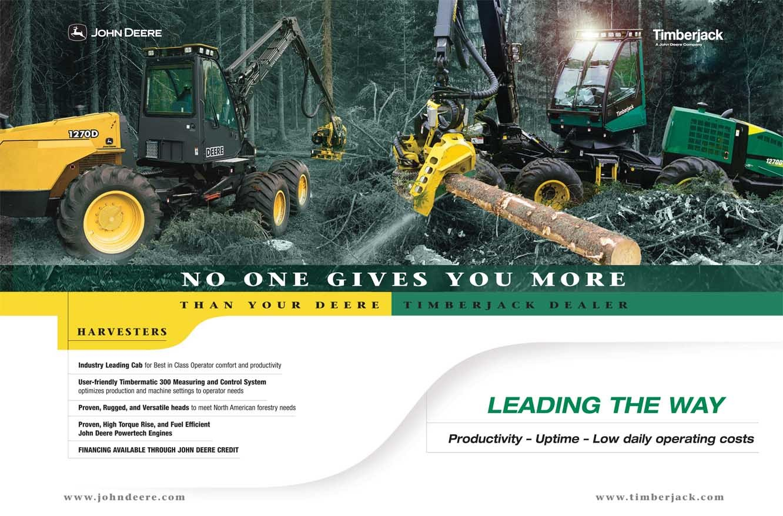 John Deere Tractor Ad : John deere ad strategy