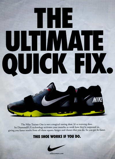 The Shoe Works If You Do Ad Strategy